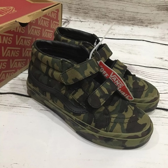 Vans Shoes   Vans Kids Camo High Tops